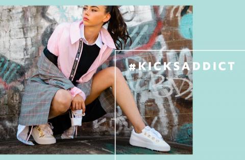 Girl in Sneakers